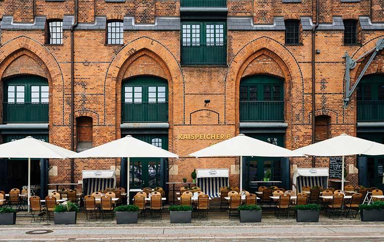 Catch of the Day Außengebäude Kaispeicher B