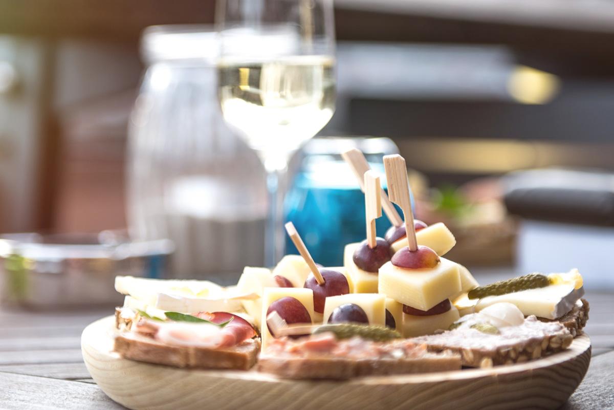 Weinveranstaltung - Käse und Wein
