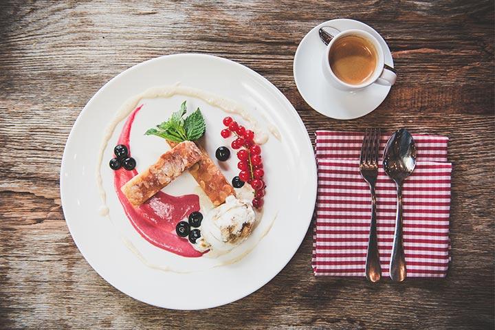 Alte Liebe - Dessert und Kaffee