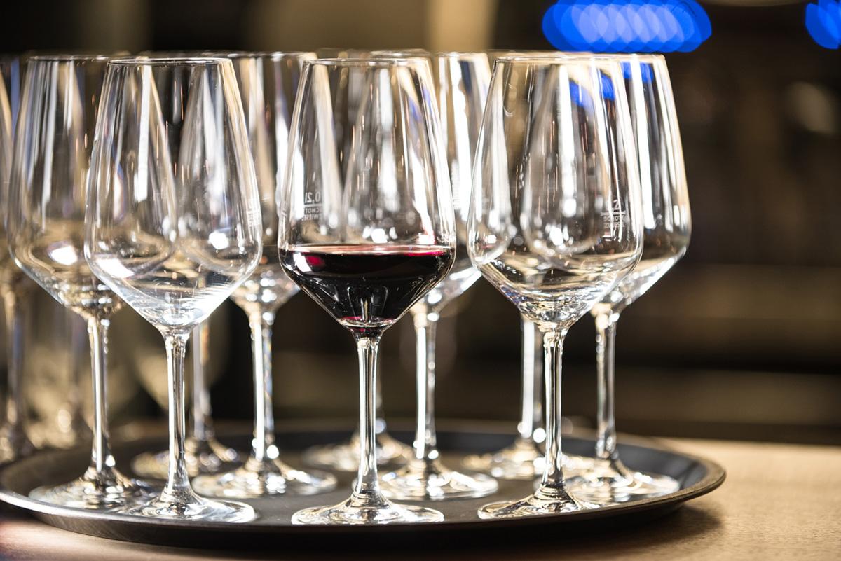 Weinveranstaltung - Weingläser